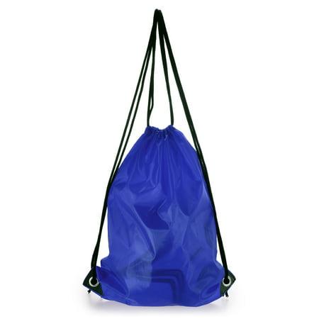 16L Lightweight Drawstring Backpack Outdoor Sport Gym Sack Pack Travel Storage Bag Beach Bag