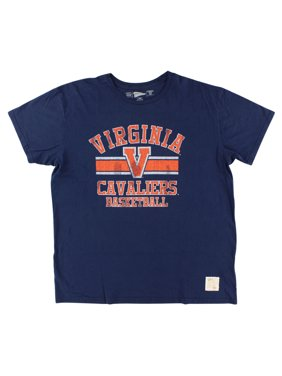 new product 12c73 5fce6 Product Image Distant Replays Mens Virginia Cavaliers College Vintage T  Shirt Navy Blue