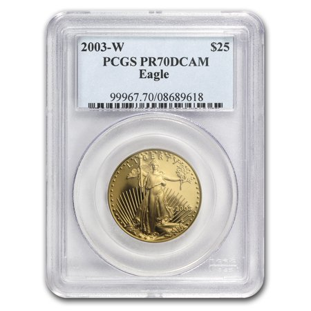 2003-W 1/2 oz Proof Gold American Eagle PR-70 PCGS