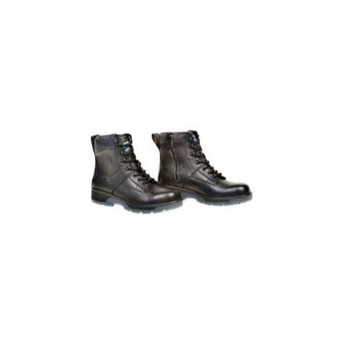 "Black 6"" Lace Up Side Zipper Composite Toe Boot, Size 11.5"