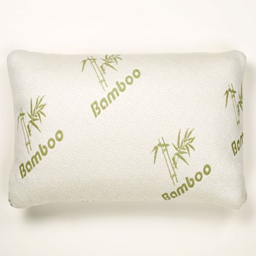 Bamboo Memory Foam Pillow Stay Cool Removable Cover with Zipper Hotel Quality... by