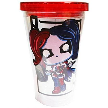 FUNKO ACRYLIC CUP: DC - HARLEY QUINN - Harley Quinn Stocking