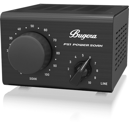 bugera ps1 power soak passive power attenuator for guitar bass amps w emulated mic output. Black Bedroom Furniture Sets. Home Design Ideas