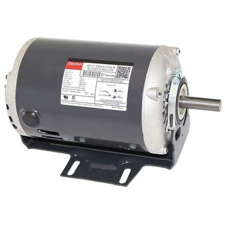 DAYTON 5K416 Motor, 1/2 HP, Split Ph, 1725 RPM, 115 V