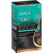 **Discontinued**Optimum Care Amla Legend Miraculous Black Oil Natural Dull Defying Dark Brown Haircolor