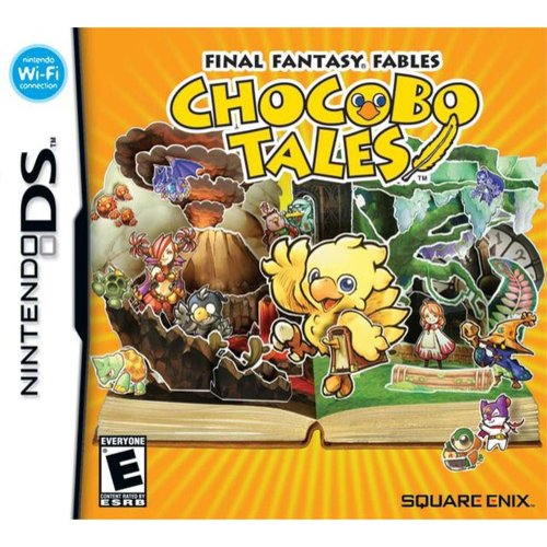 Image of final fantasy fJles: chocobo tales - nintendo ds