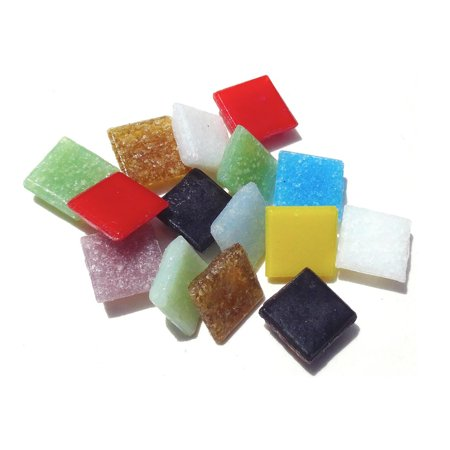 - Mosaic Mercantile Mini Italian Glass Tiles, Assorted, 1 lb.