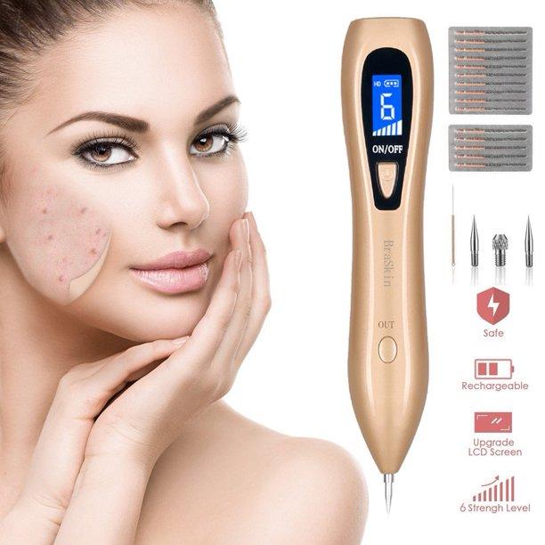 Electric Mole Moreslan Digital Skin Tag Pen Kit Professional Beauty Needle For Body Facial Pore Freckle Nevus Spot Tattoo Walmart Com Walmart Com