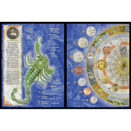 American Coin Treasures Zodiac Astrological Coin Collection - Multi - 6