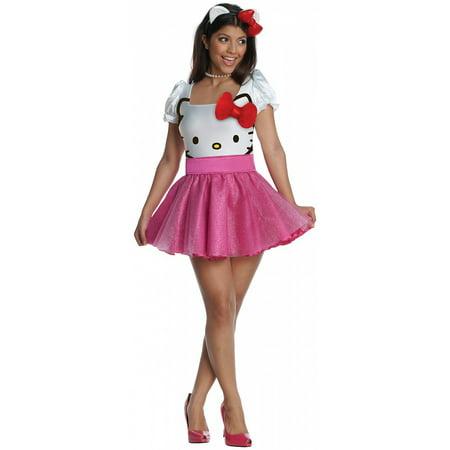 Hello Kitty Adult Costume - Small