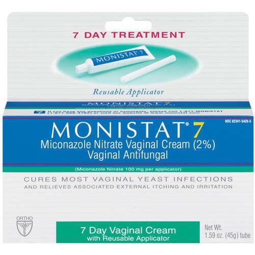 Monistat 7: 7 Day Vaginal Cream W/Reusable Applicator Vaginal Antifungal, 1.59 oz