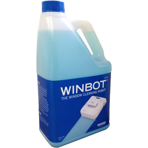 ECOVACS Robotics W002 1/2-Gal. Professional Cleaning Solution Refill for Select WINBOT Window Cleaners Blue