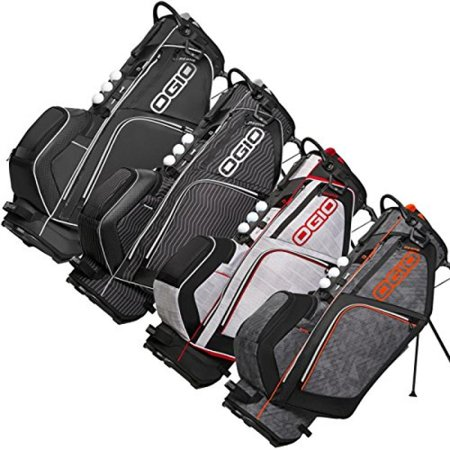 Ogio Ozone Golf Stand Carry Bag White Charcoal