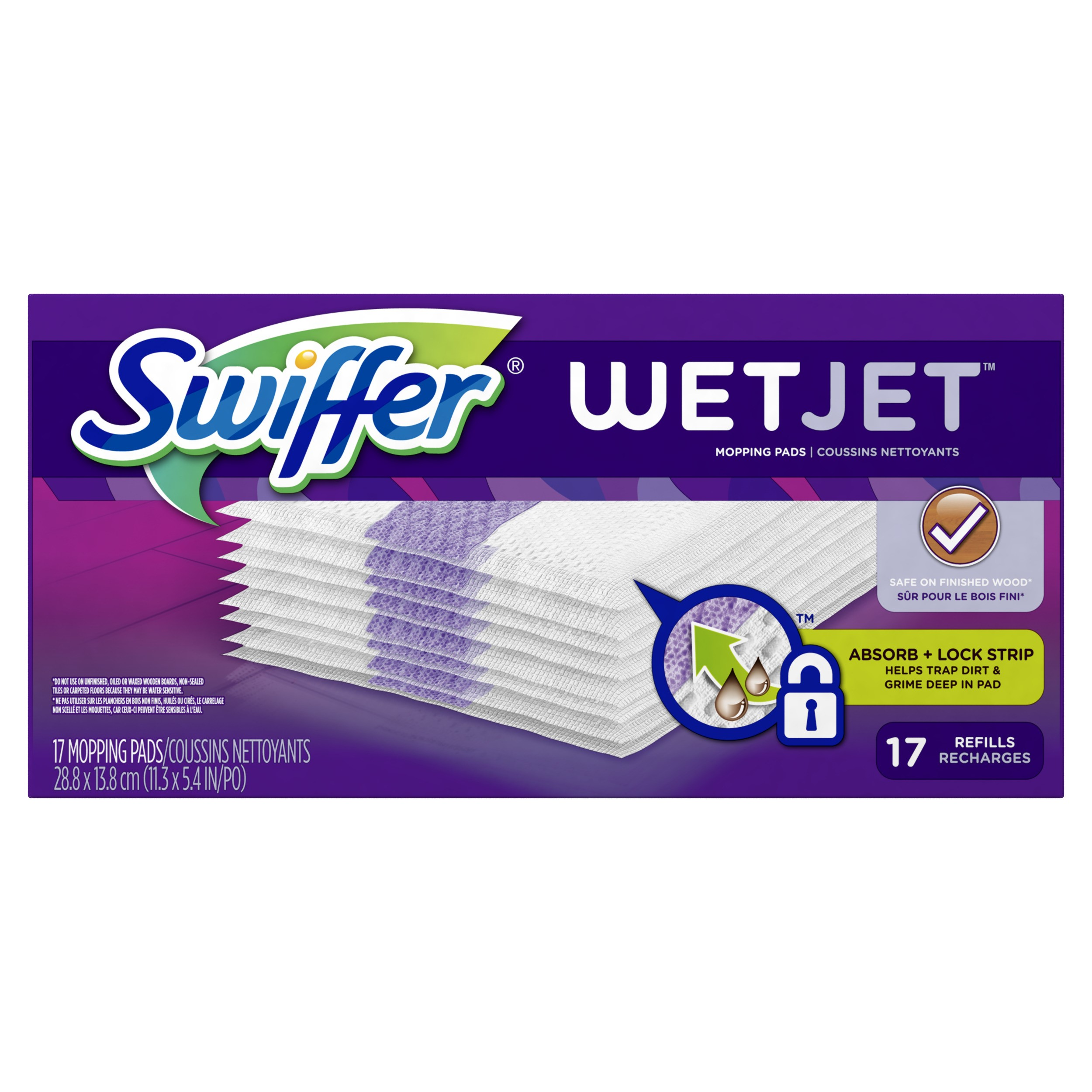 Swiffer WetJet Original Pad Refills, 17 Ct