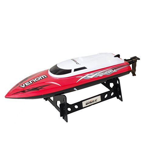 UDI001 Venom Remote Control Boat for Pools, Lakes and Out...