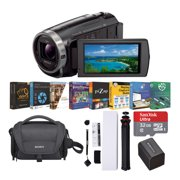 Sony HDR-CX675 1080p Full HD Handycam Camcorder Content Creator Bundle