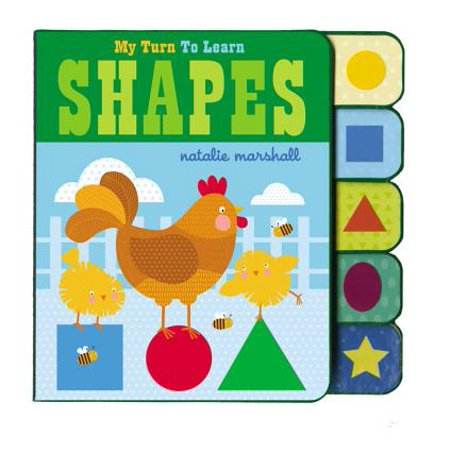 My Turn to Learn Shapes (Board Book)