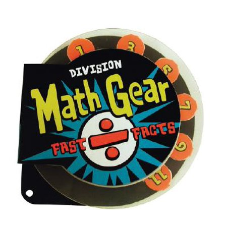 Math Gear: Fast Facts - Division by Innovative Kids [Hardcover] (Math Fact Family)