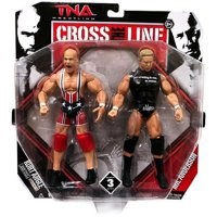 Kurt Angle & Mr. Anderson Action Figure 2-Pack Cross the Line Series 3