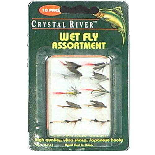 Crystal River 10pk Wet Flies, Assorted