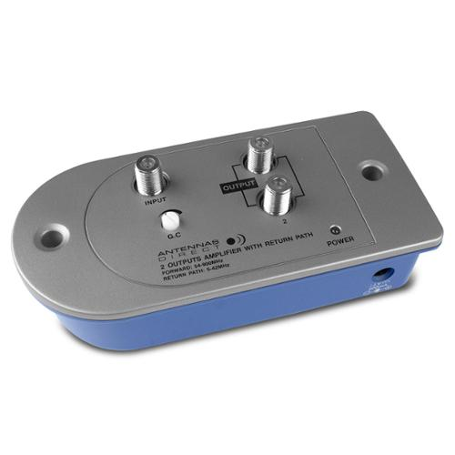 Antennas Direct 2-Way UHF/VHF/FM Distribution Amplifier