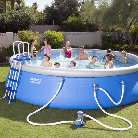 Bestway 18 39 X 48 Fast Set Above Ground Swimming Pool