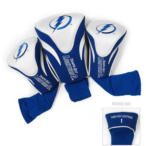Team Golf NHL Tampa Bay Lightning 3 Pack Contour Head Covers