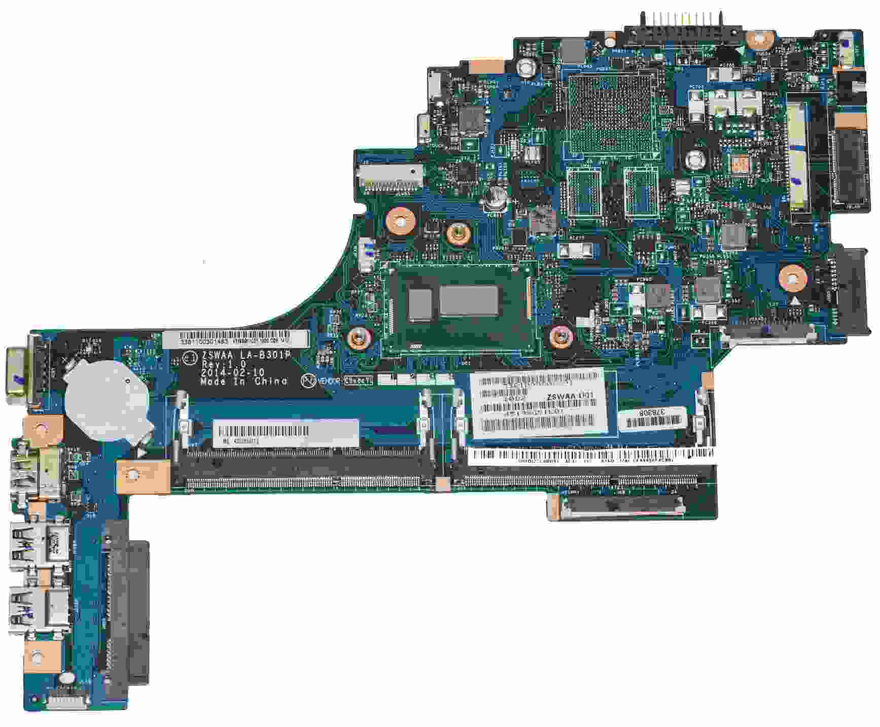 K000889110 Toshiba Satellie C55T B5109 Laptop Motherbaord con Intel i3-4005U 1... + Toshiba en Veo y Compro