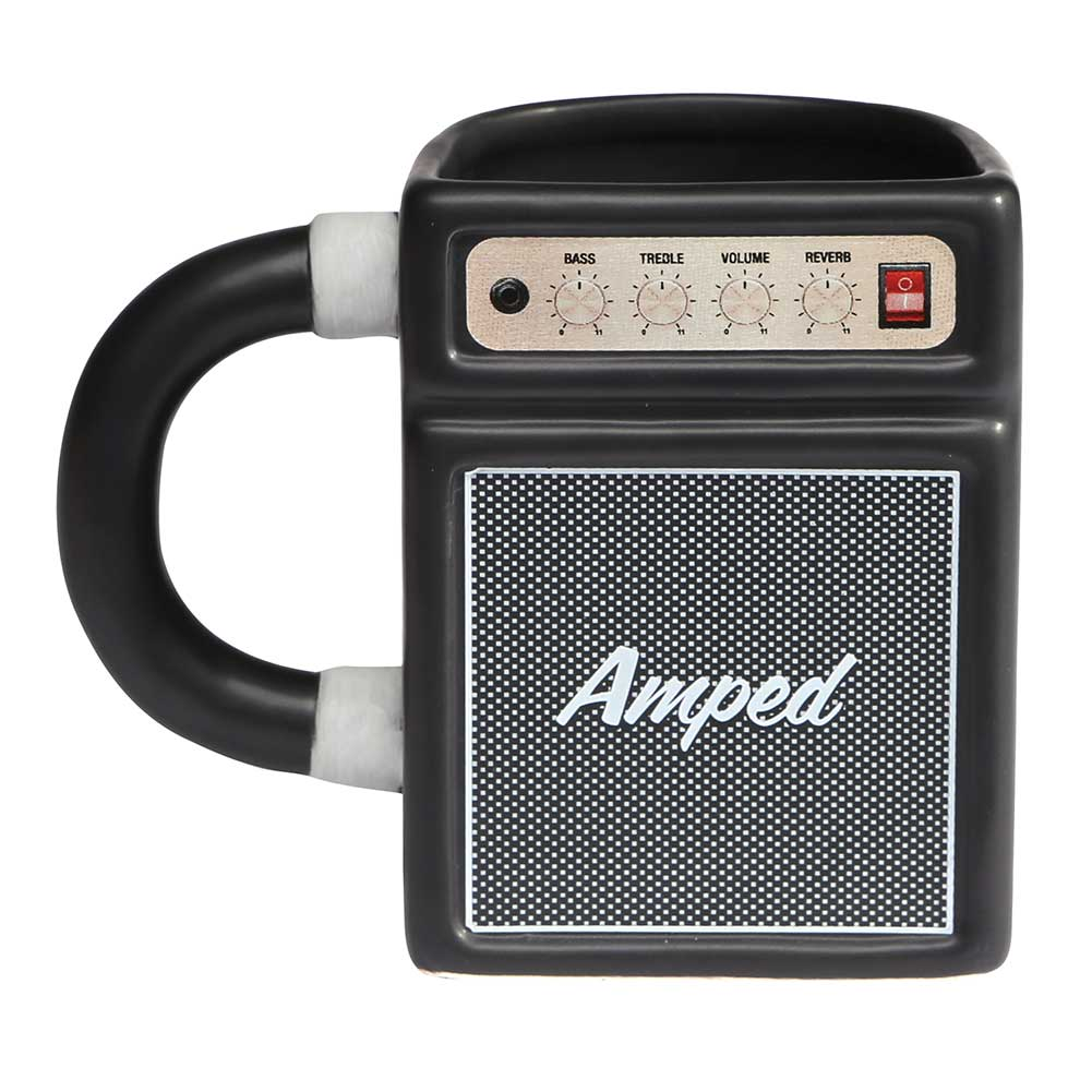 Amped Guitar Amp Coffee Mug