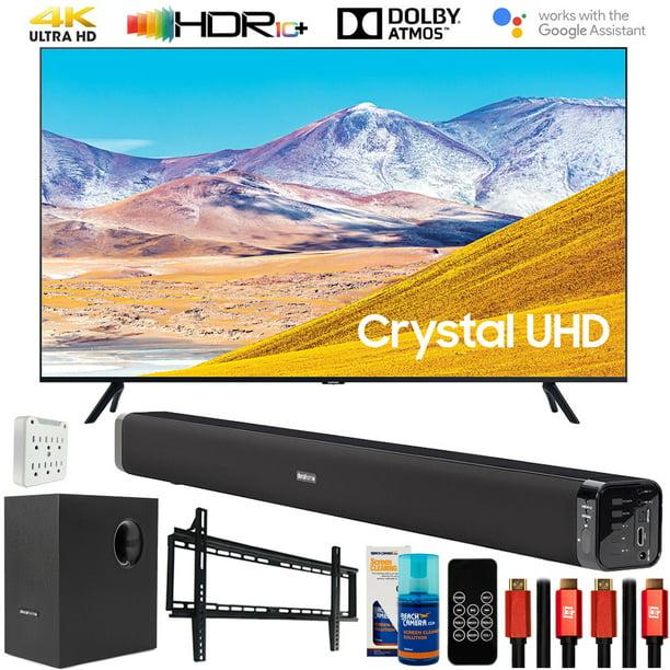 "Samsung UN65TU8000 65"" 4K Ultra HD LED TV (2020) with Deco Gear Home Theater Bundle(UN65TU8000FXZA TU8000 65 Inch TV)"