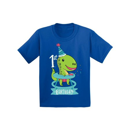 Awkward Styles Dinosaur Birthday Tshirt for Baby 1st Birthday Infant Shirt First Birthday Gifts Dinosaur Birthday Boy Shirt Gifts for Birthday Girl Shirts for 1 Year Old 1st Birthday Party