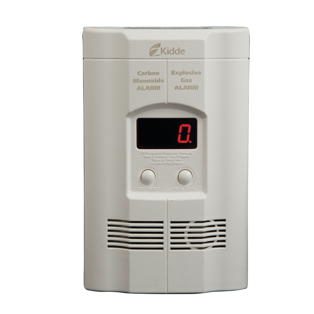 Kidde Plug In Combination Combustible Gas And Carbon Monoxide Detector With 9 Volt Battery... by KIDDE