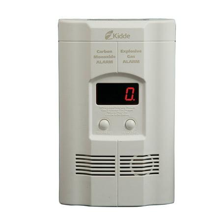 Kidde co carbon monoxide and gas alarm ac dc - Detector co2 domestico ...