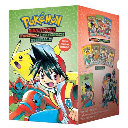 Pokémon Adventures Fire Red & Leaf Green / Emerald Box Set : Includes Volumes