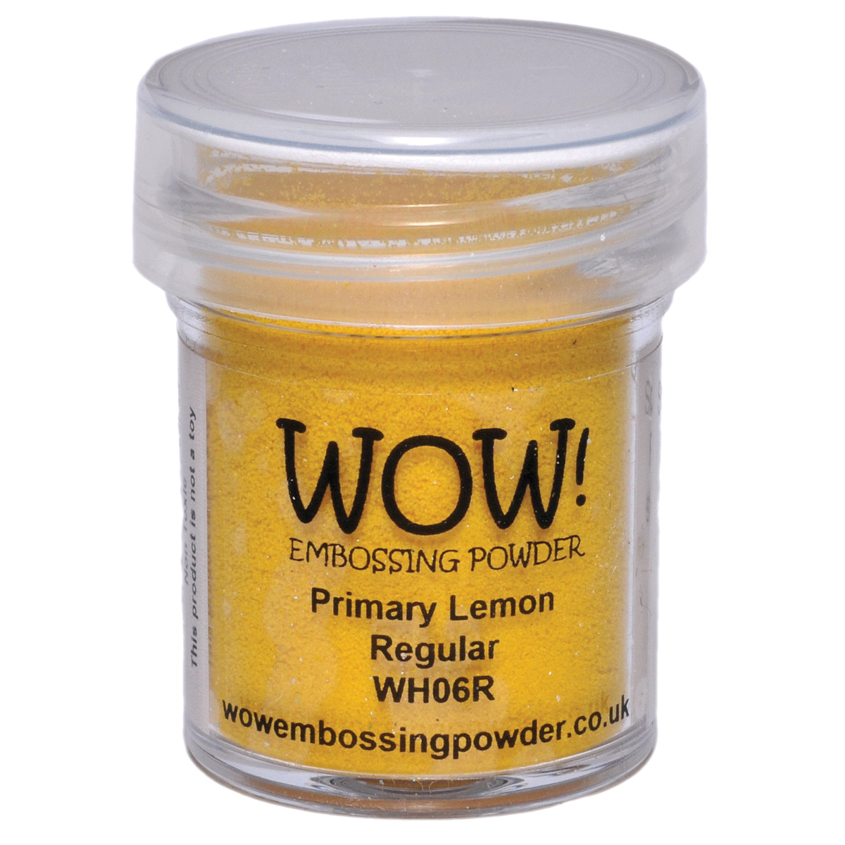WOW! Embossing Powder 15ml-Lemon