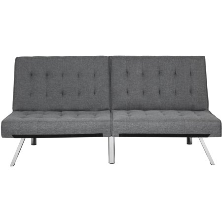 Pleasing Best Choice Products Modern Futon Sofa Bed Fold Up Down Couch Recliner Lounger Sleeper Furniture Gray Machost Co Dining Chair Design Ideas Machostcouk