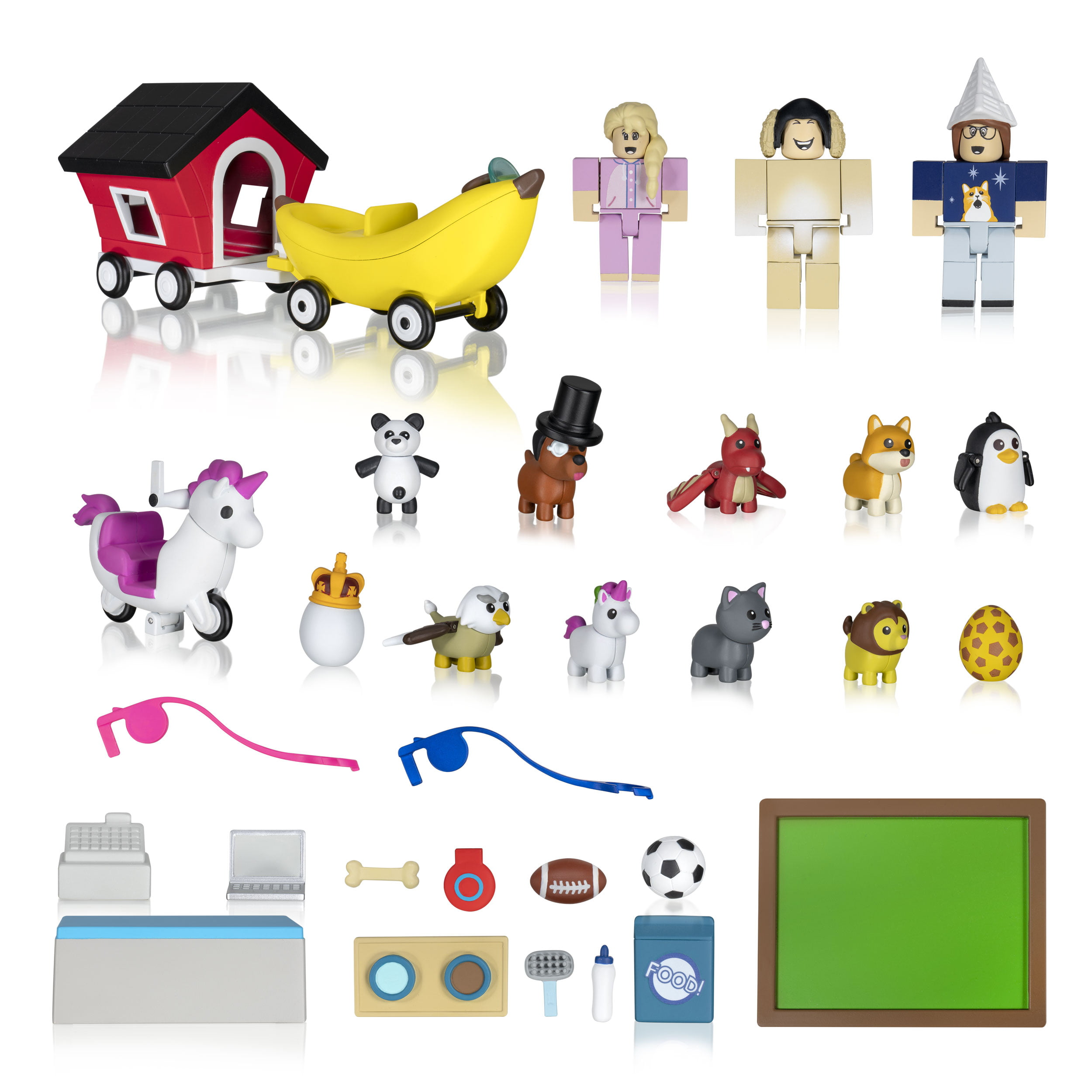 Roblox Celebrity Collection Adopt Me Pet Store Deluxe Playset Includes Exclusive Virtual Item Walmart Com Walmart Com