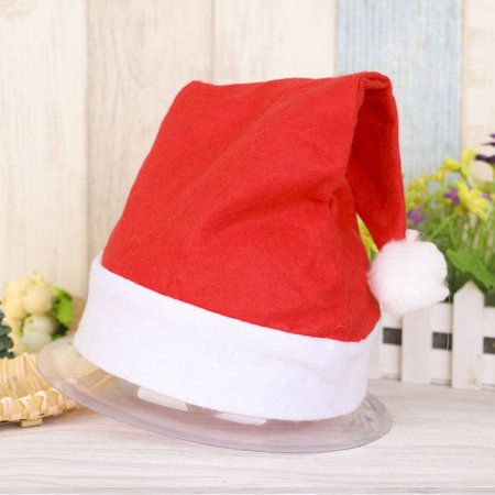 Holiday Clearance Xmas Official Plush Santa Claus Hat & Comfort Liner Christmas Halloween Costume](Costumes On Sale Clearance)