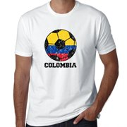Colombia World Cup Football Soccer - Russia 2018 Men's T-Shirt