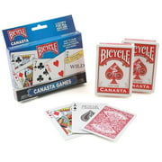 US Playing Card Company Bicycle Canasta Games