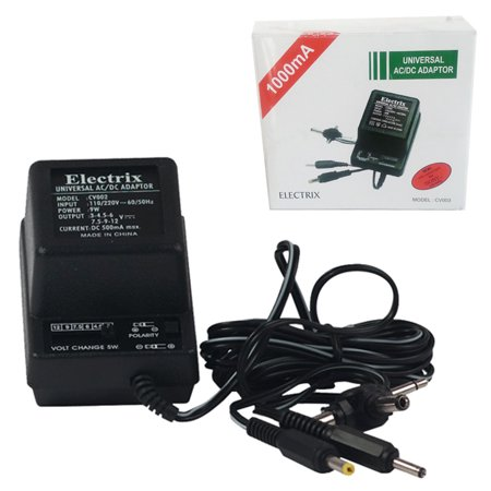 Universal AC DC Power Adapter Output 1.5-3-4.5-6-7.5-9-12 V 1000 mA 220V 50 Hz 100 Ma Power Supply