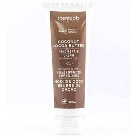 100 Ml Cream (Scentuals Hand Repair Cream 100 ml - Coconut Cocoa)