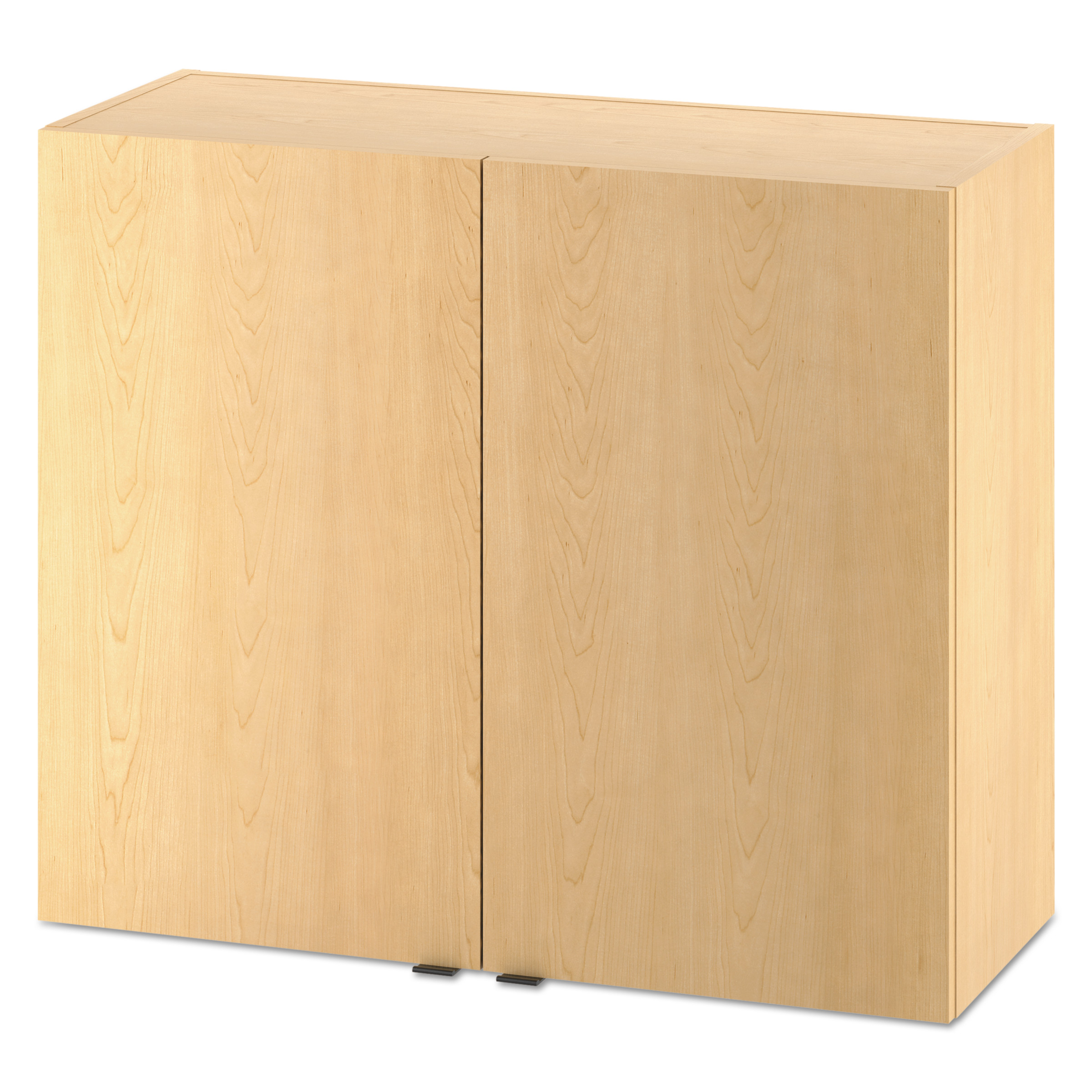 HON Hospitality Wall Cabinet, Two Doors, 36w X 14d X 30h, Natural Maple