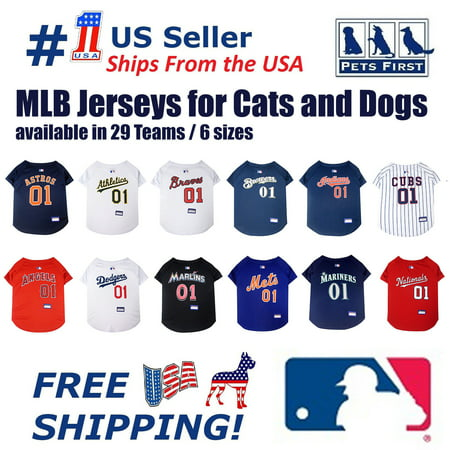 Image of Pets First MLB Baltimore Orioles Mesh Jersey for Dogs and Cats - Licensed Soft Poly-Cotton Sports Jersey - Large