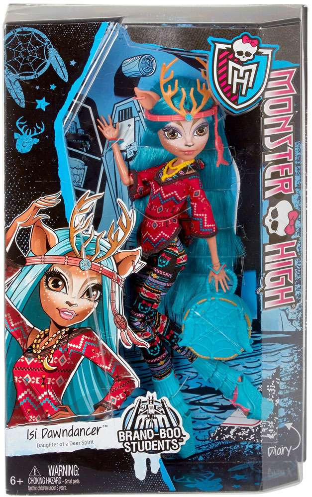 Monster High Brand-Boo Students Isi Dawndancer 10.5 Doll by