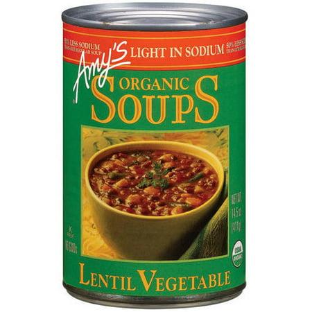 Amy's Organic Soups Lentil Vegetable, 14.5 oz