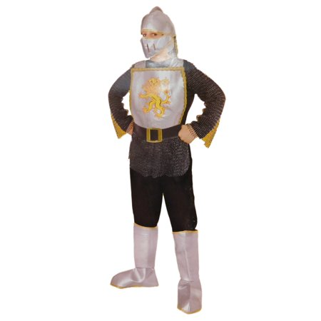 Boys Deluxe Knight Medieval Halloween Child Costume (Medieval Boys)