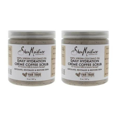 Shea Moisture 100% Virgin Coconut Oil Daily Hydration Creamy Sugar Body Scrub 8 (Olive Oil And Sugar Scrub For Legs)