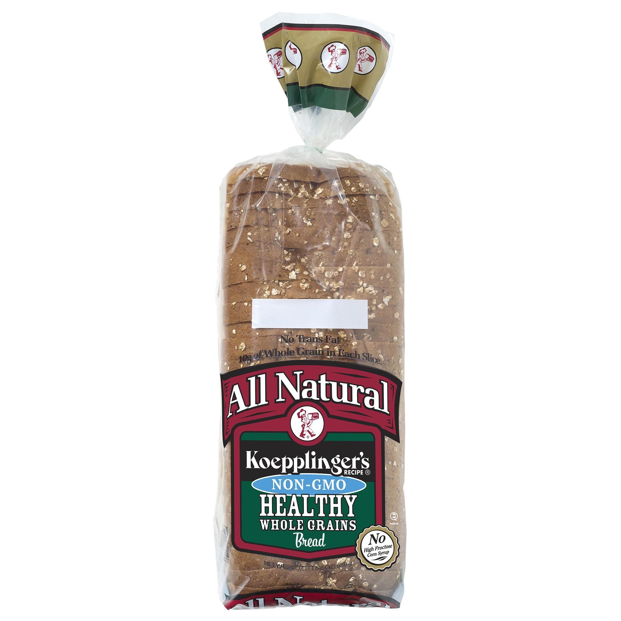 Koepplinger's Healthy Whole Grains Bread, 24 oz.
