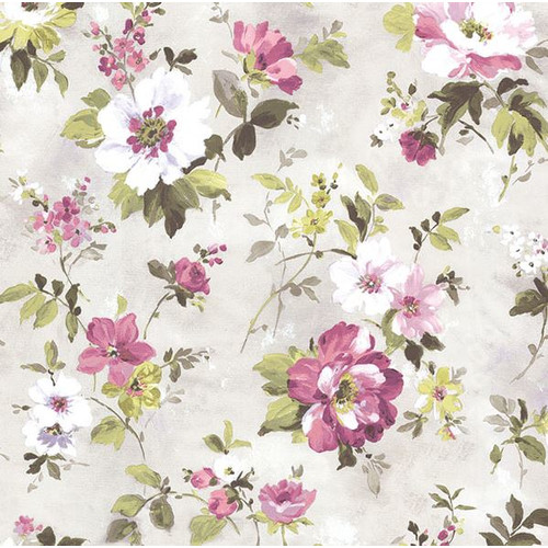 Brewster Home Fashions Rosemore 33' x 20.5'' Amalia Garden 3D Embossed Wallpaper